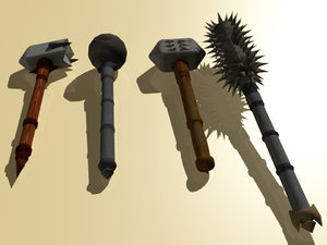 maya maces warhammers