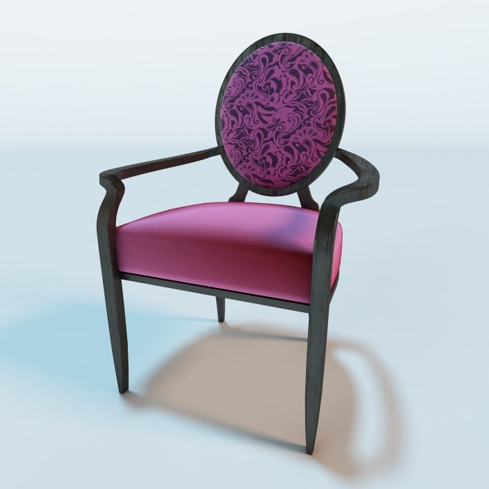 maya phoenix lounge armchair