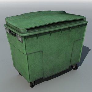 3ds wheelie bin