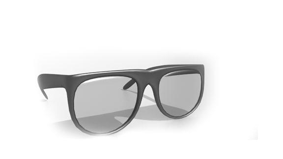 3ds sunglasses blender
