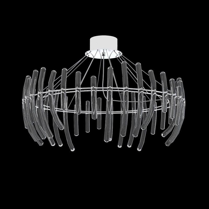 max glass celing chandelier