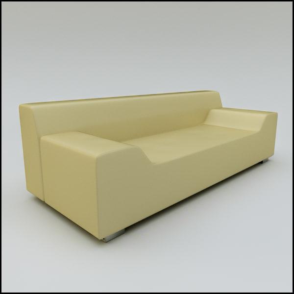 fbx contemporary sofa a-cero