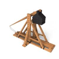 3d model trebuchet