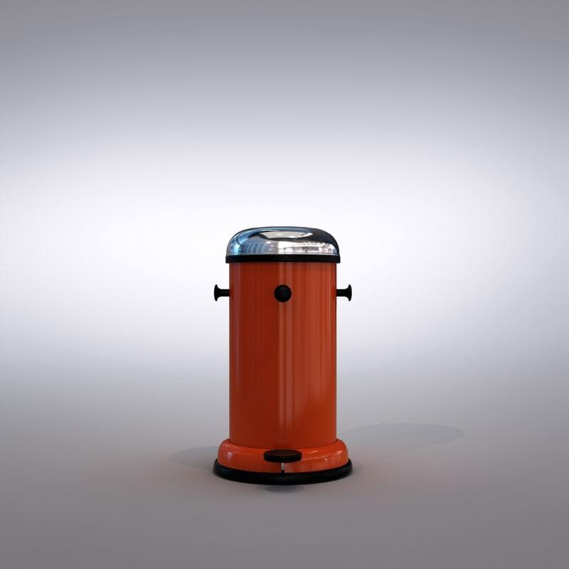 3d bin model