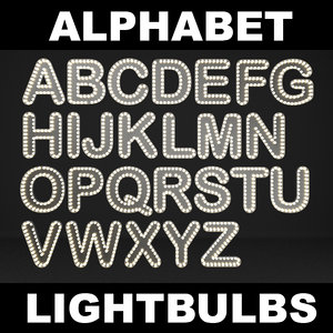 lightbulb letters max