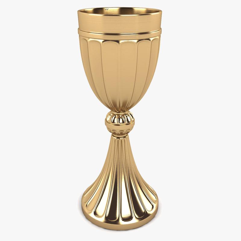 3d chalice model