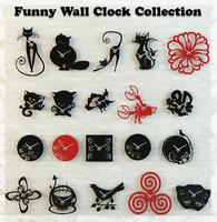 obj wall clocks funny