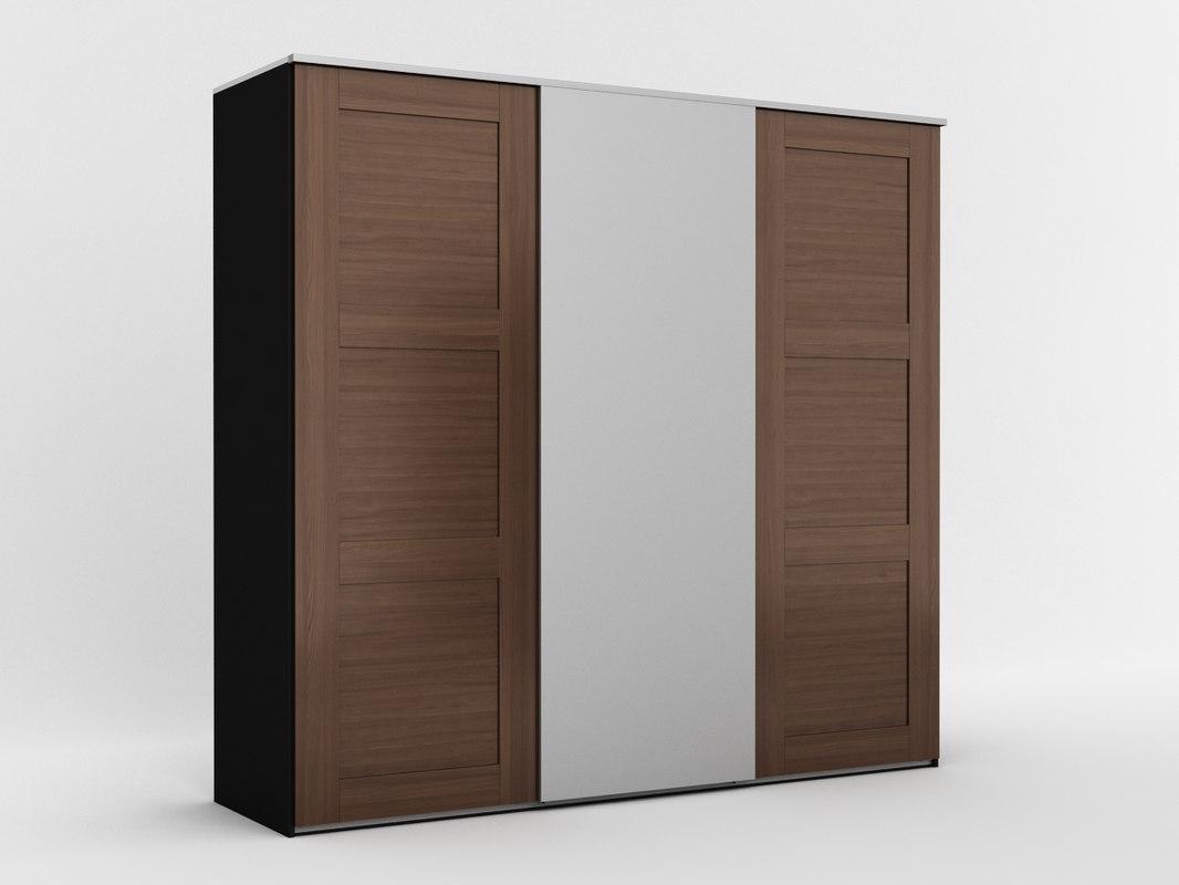 ikea elga 3d obj. Black Bedroom Furniture Sets. Home Design Ideas