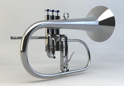 free horn horn 3d model