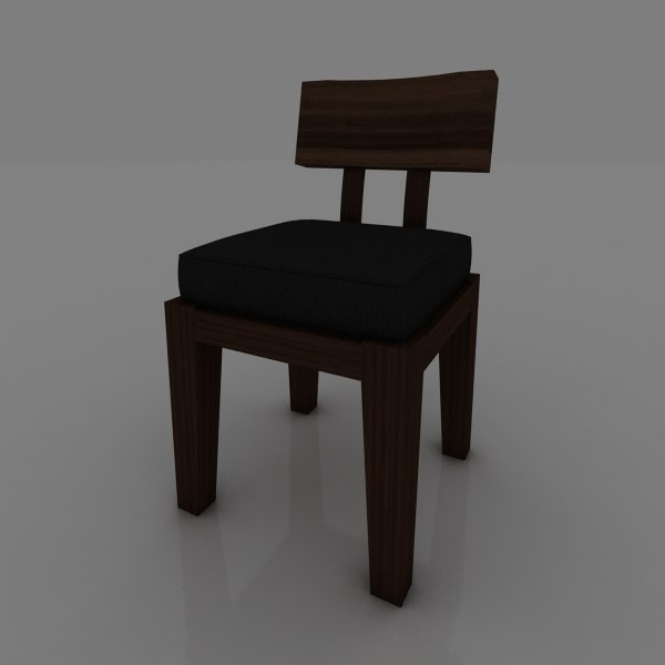 3d chair epais model