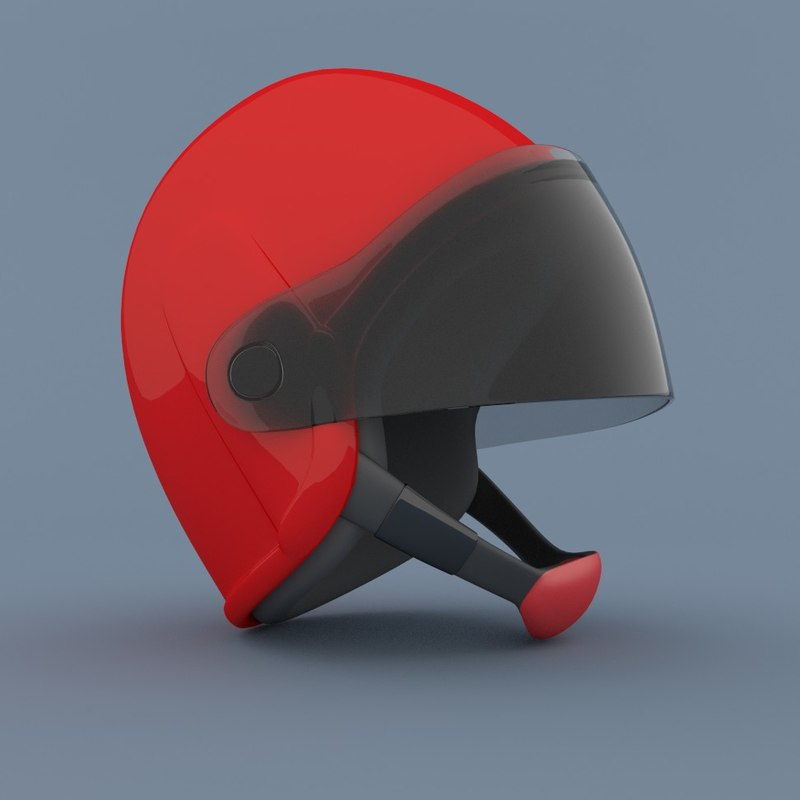 smax open faced helmet