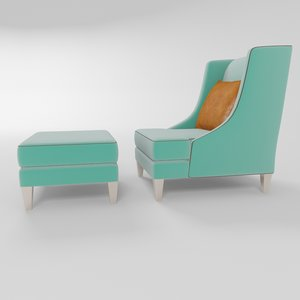 3d softhouse vittoria chair model