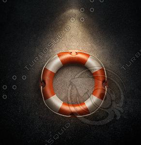 life ring 3d model