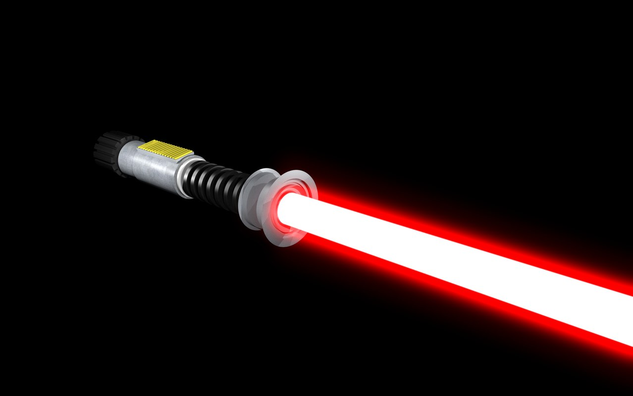 lightsaber 3d model