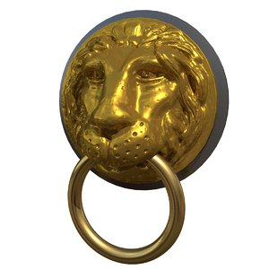 max lion head knocker