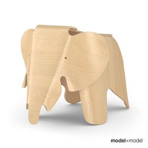 3d vitra elephant model