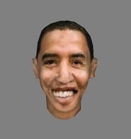 obama 3d model