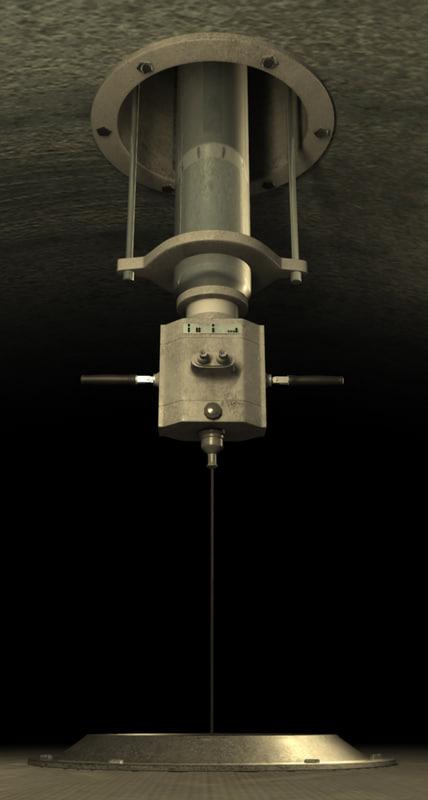 submarine periscope obj