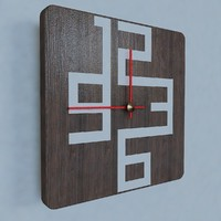 contemporary wall clock design