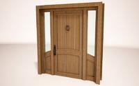 entrance door 3d max
