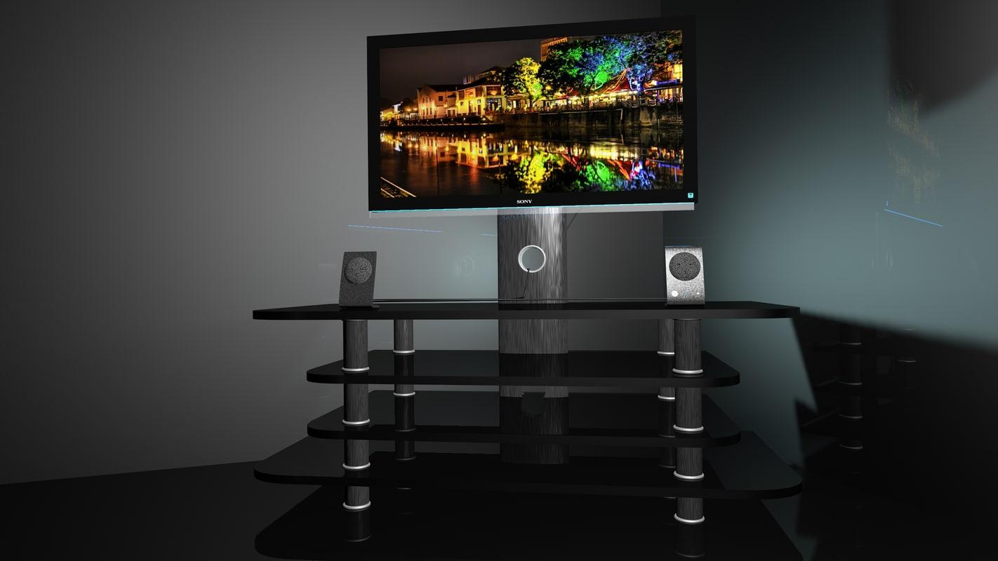 3d sony hd tv model