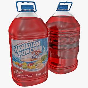 hawaiian punch bottle