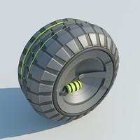 concept wheel 2011 3d max