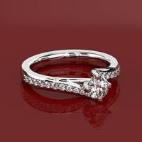 3d model solitair ring