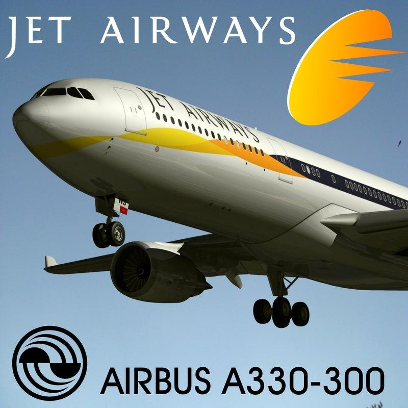 maya airbus a330-300 jet airways