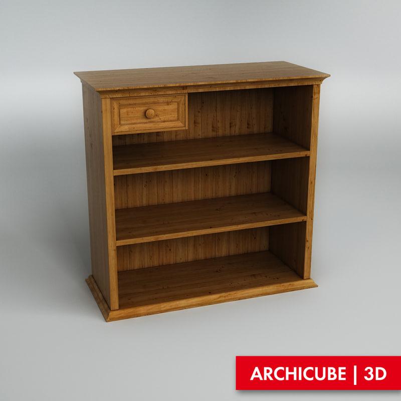 chest drawer 3d obj