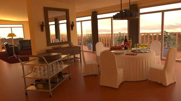 blend dining room