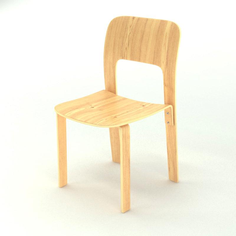 3dsmax designed wooden