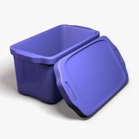 3dsmax storage bin