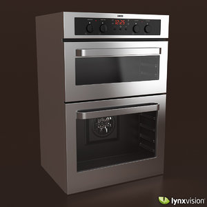 electric double oven zanussi 3d max