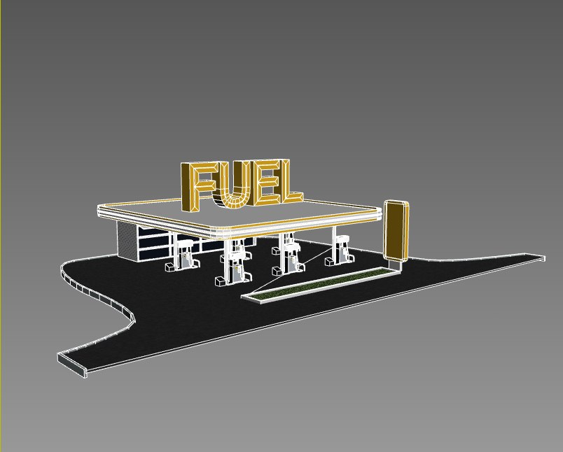fuel station 3ds