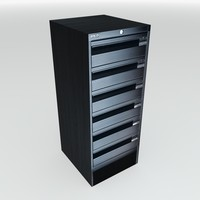 Small Metal Filing Drawers