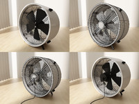 floor fan 3d 3ds