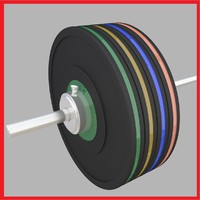 Weight Lifting Barbell