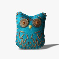 toy owl 3d 3ds