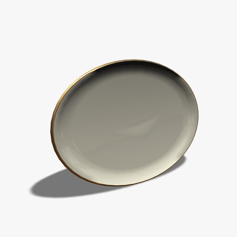 3ds oval plate