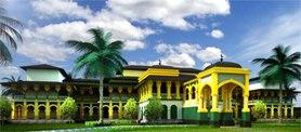 3d model palace north sumatera