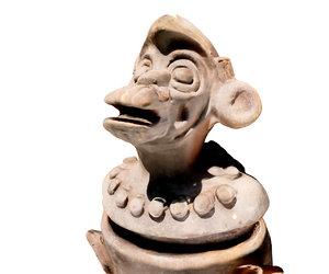 ancient monkey replica 3d model