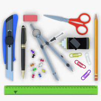 3d model office tools