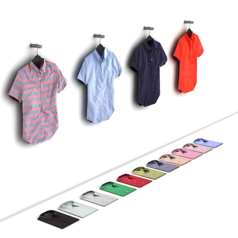 obj sleeve shirts polys