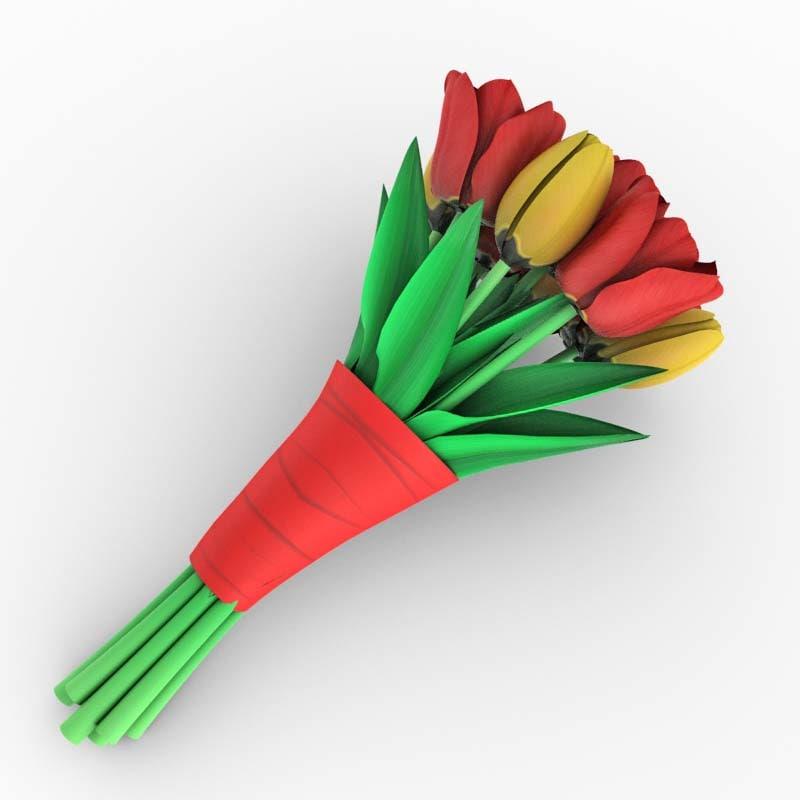 tulip bouquet max