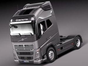 2012 2013 truck 16 3d model