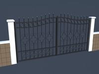 3ds garden gate