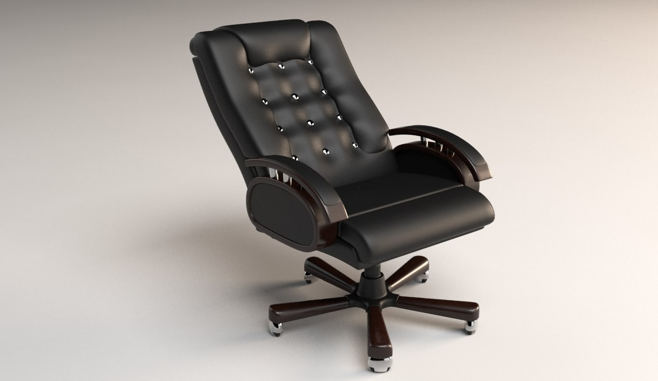 3d executive office chair model