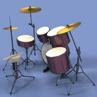 3d drums set