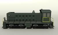 3ds diesel locomotive